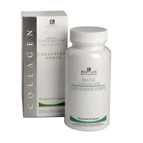 Collgreen Forte – kolagen, zielona herbata i EGCG w kapsułkach